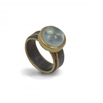 Pathways Aquamarine Ring