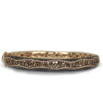 Colored Diamond Bangle