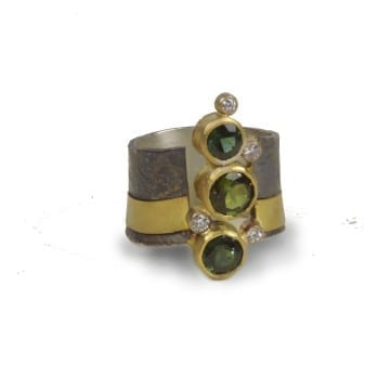 Pathways Tourmaline Ring