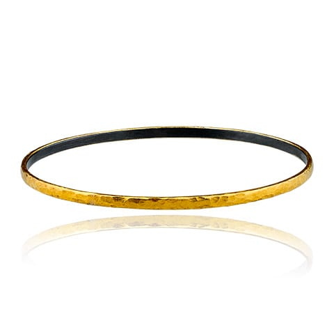 Gold & Sterling Bangle
